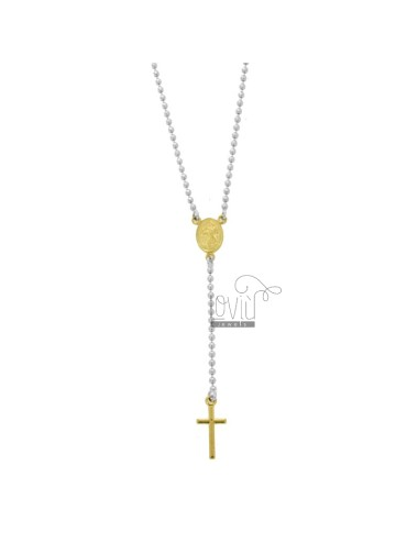 Rosary type necklace mit...