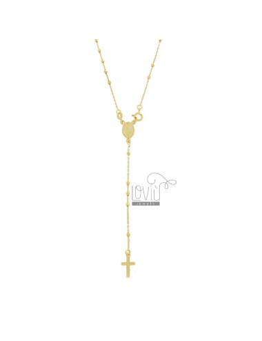 Rosary necklace kabel mit...
