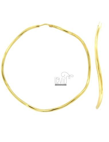 Earrings a circus 60 mm...