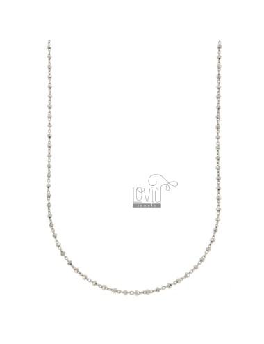 Chain sauro in silver...