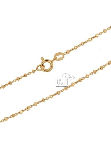 Sauro chain in silver rose...