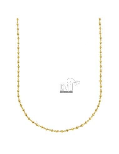 Chain sauro in silver gold...