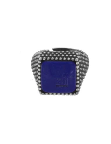 13x13 mm anillo cuadrado...