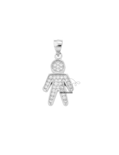 CHILD PENDANT 20X12 MM...