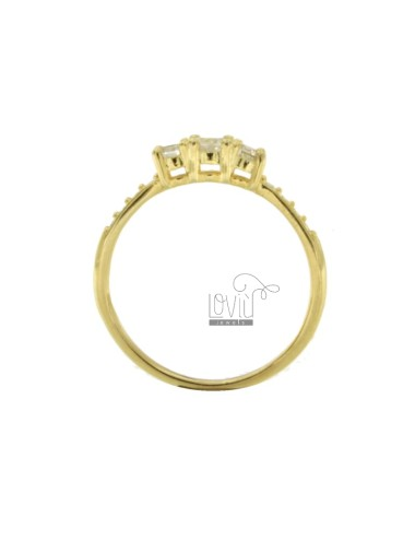 TRILOGY RING IN GOLDEN...