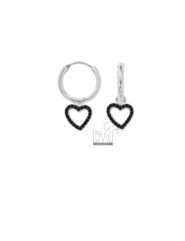 EARRINGS WITH A CIRCLE...