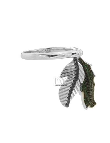 Ring verlässt in Silber...