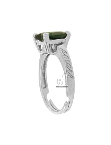 RING HERZ IN RHODIUM AG TIT...