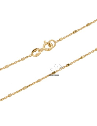 Saural chain with cubes in...