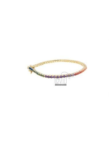 Tennis bracelet 2.5 mm in...