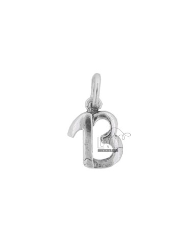 THIRD MM 17X13 PENDANT IN SILVER BRUNITO TIT 800
