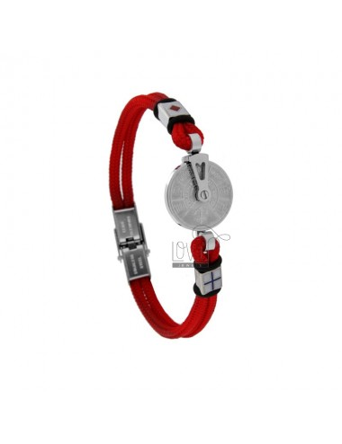 Rope bracelet with still...