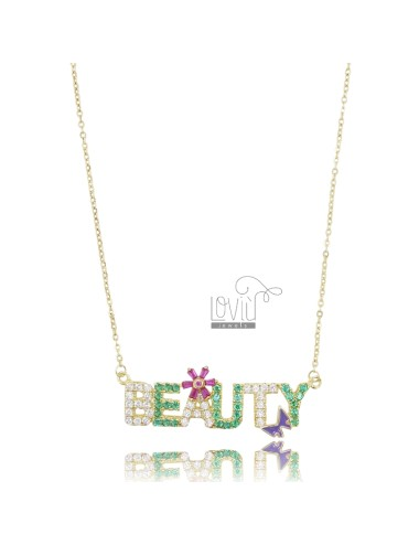 NECKLACE CABLE BEAUTY IN...