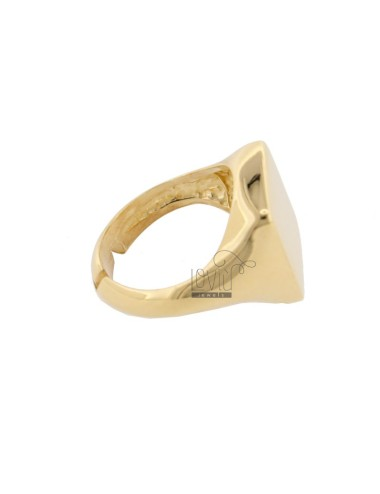 Square ring in golden...