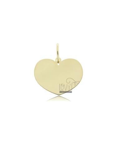 Heart pendant 17x22 mm...