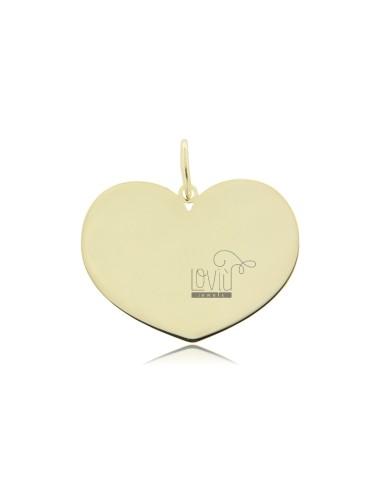 Heart pendant 23x30 mm...