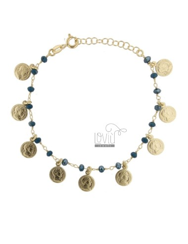 Bracelet with coins and...