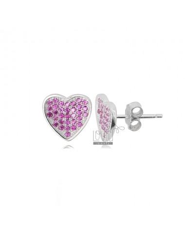HEART EARRINGS MM 10X10 IN...