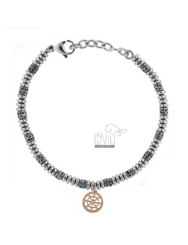 Bracelet with washers and...