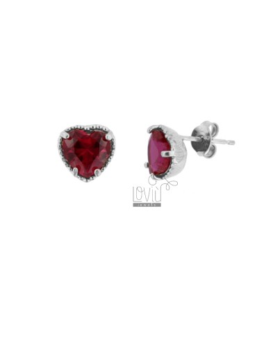 LOBO EARRINGS HEART 10 MM...