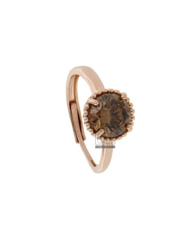 Adjustable ring with point...