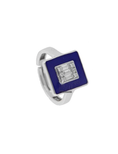 CHEVALIER RING IN SILBER...