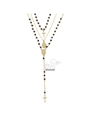 3-draht-halsketten-rosarien...