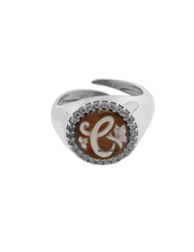 ROUND RING 13 MM WITH...
