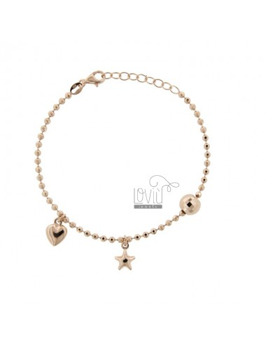 Bracelet with balls with...
