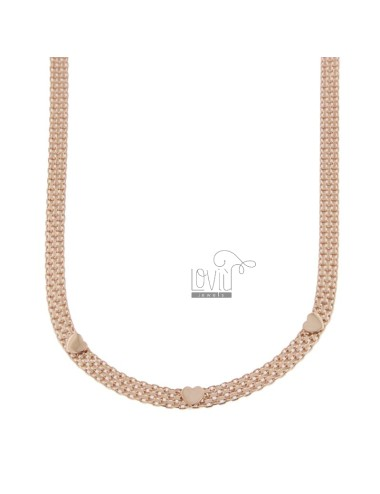 Bismark knit necklace with...