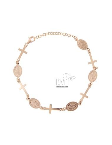 Sacred rose silver bracelet...