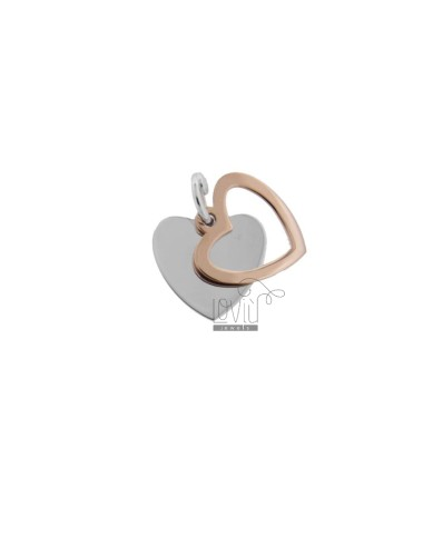 Double sheet heart pendant...