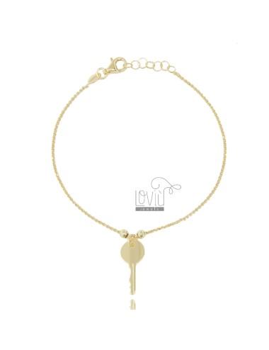 Rolo bracelet 'with key...