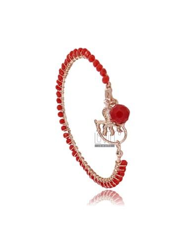 Circle armband mit charms...