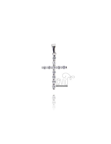 CROSS PENDANT 25X16 MM...