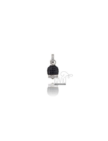 PENDANT BELL 14X8 MM SILVER...