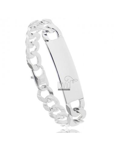 Curb-strick-armband mit...