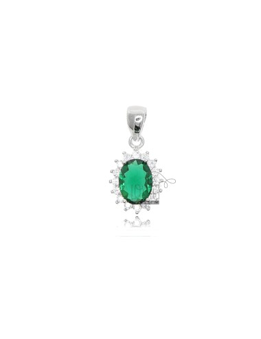 OVAL PENDANT MM 12X10 KATE...