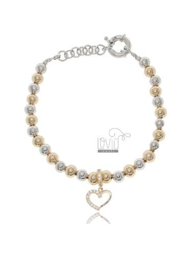 Bracelet with 6 mm balls...