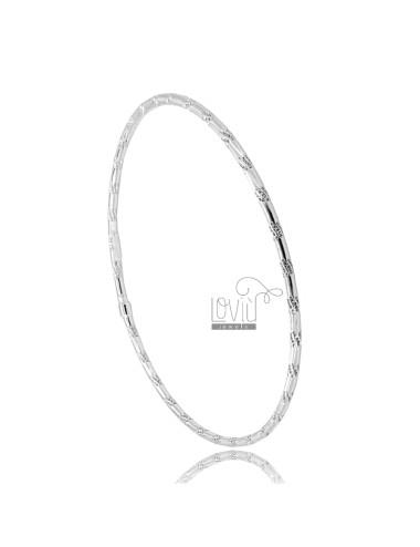 Rigid circle bracelet...