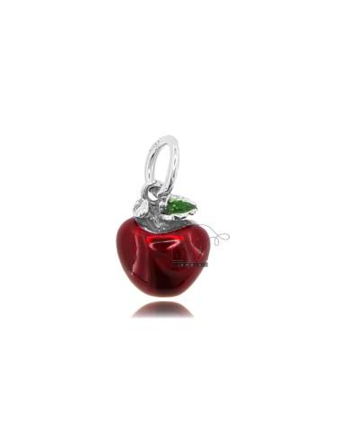 Apple anhänger mm 15x12 in...