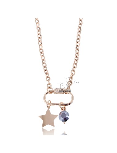 Necklace with hook and star...