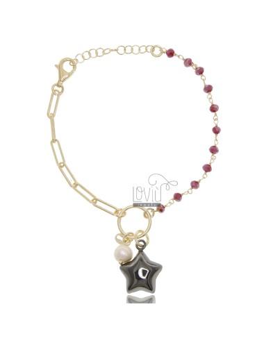 Bracelet with star in...