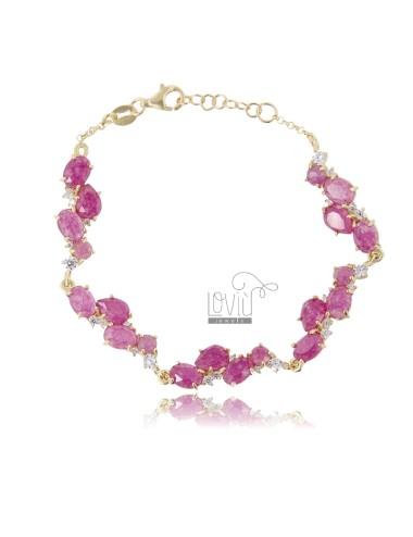 Bracelet with natural...