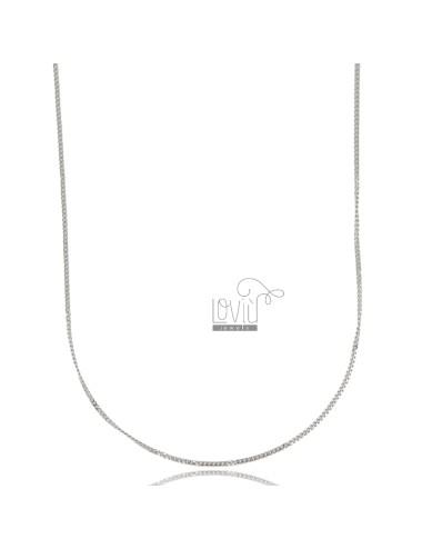 Curb-kette aus stahl 70 cm