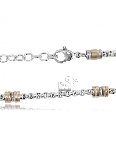 CHAIN CM 50-55 IN TWO-TONE...