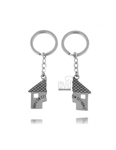 Divisible key ring with...