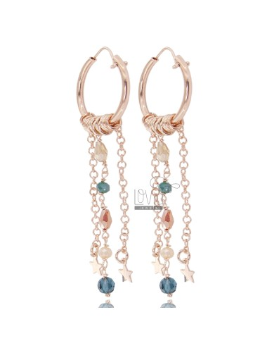 Circle earrings diam 15 mit...