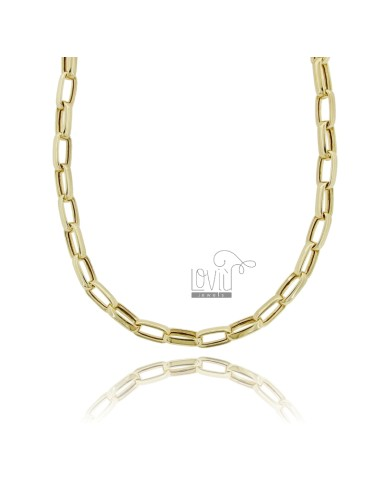 Cable necklace extended mm...