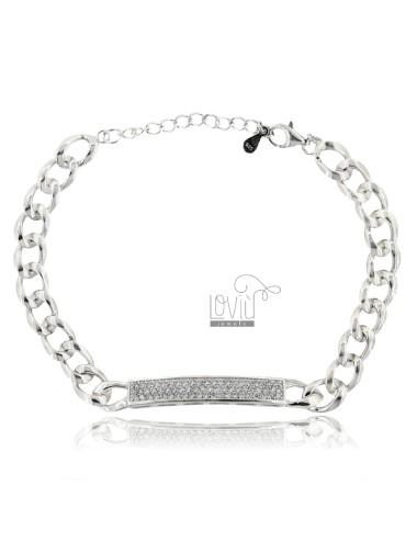Groumette bracelet with...